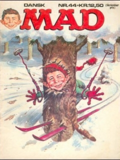 Go to MAD Magazine #44 • Denmark • 2nd Edition - Semic