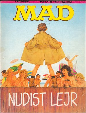 MAD Magazine #46 • Denmark • 2nd Edition - Semic