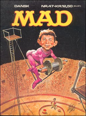 MAD Magazine #47 • Denmark • 2nd Edition - Semic