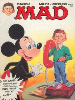 Go to MAD Magazine #51 • Denmark • 2nd Edition - Semic