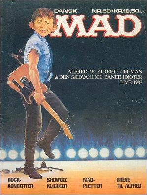 MAD Magazine #53 • Denmark • 2nd Edition - Semic