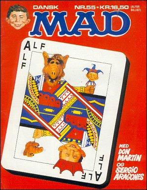 MAD Magazine #55 • Denmark • 2nd Edition - Semic