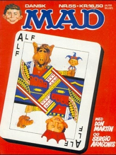 MAD Magazine #55 • Denmark • 2nd Edition - Semic
