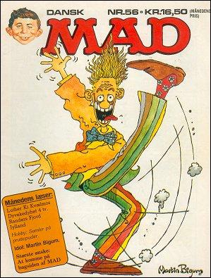 MAD Magazine #56 • Denmark • 2nd Edition - Semic