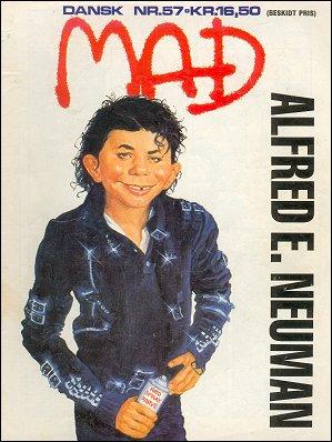 MAD Magazine #57 • Denmark • 2nd Edition - Semic
