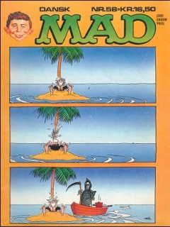 Go to MAD Magazine #58 • Denmark • 2nd Edition - Semic