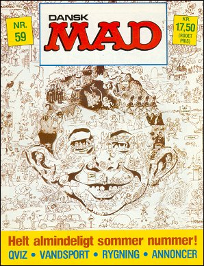 MAD Magazine #59 • Denmark • 2nd Edition - Semic