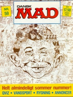 Go to MAD Magazine #59 • Denmark • 2nd Edition - Semic