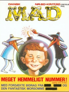 Go to MAD Magazine #60 • Denmark • 2nd Edition - Semic