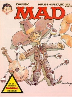 Go to MAD Magazine #61 • Denmark • 2nd Edition - Semic