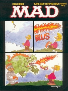 Go to MAD Magazine #62 • Denmark • 2nd Edition - Semic