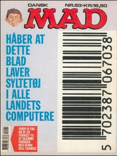 Go to MAD Magazine #63 • Denmark • 2nd Edition - Semic
