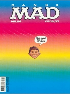 Go to MAD Magazine #64 • Denmark • 2nd Edition - Semic