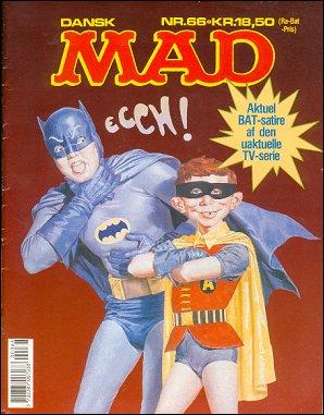 MAD Magazine #66 • Denmark • 2nd Edition - Semic