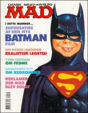 MAD Magazine #67 • Denmark • 2nd Edition - Semic