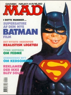 Go to MAD Magazine #67 • Denmark • 2nd Edition - Semic