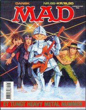 MAD Magazine #68 • Denmark • 2nd Edition - Semic