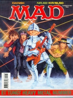 MAD Magazine #68 • Denmark • 2nd Edition - Semic
