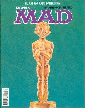 MAD Magazine #69 • Denmark • 2nd Edition - Semic