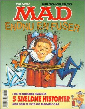 MAD Magazine #70 • Denmark • 2nd Edition - Semic