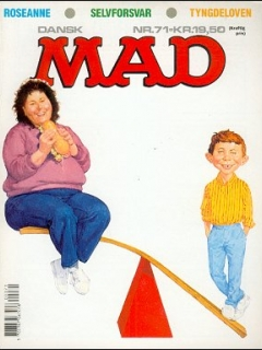 Go to MAD Magazine #71 • Denmark • 2nd Edition - Semic