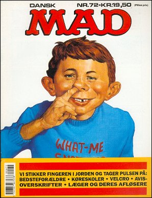 MAD Magazine #72 • Denmark • 2nd Edition - Semic