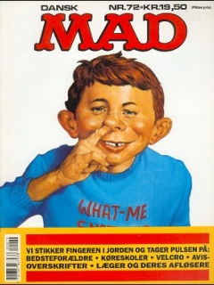 Go to MAD Magazine #72 • Denmark • 2nd Edition - Semic