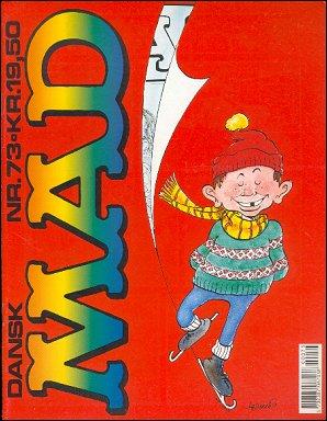 MAD Magazine #73 • Denmark • 2nd Edition - Semic