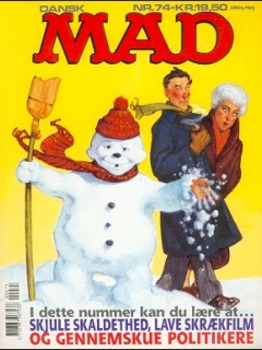 Go to MAD Magazine #74 • Denmark • 2nd Edition - Semic