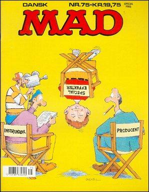 MAD Magazine #75 • Denmark • 2nd Edition - Semic