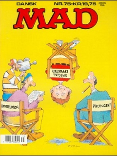 MAD Magazine #75 • Denmark • 2nd Edition - Semic