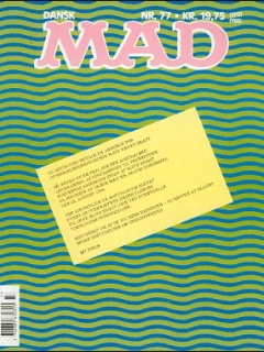 Go to MAD Magazine #77 • Denmark • 2nd Edition - Semic