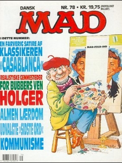 Go to MAD Magazine #78 • Denmark • 2nd Edition - Semic