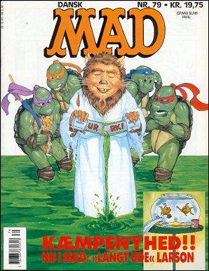 MAD Magazine #79 • Denmark • 2nd Edition - Semic