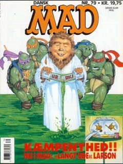 MAD Magazine #79 • Denmark • 2nd Edition - Semic