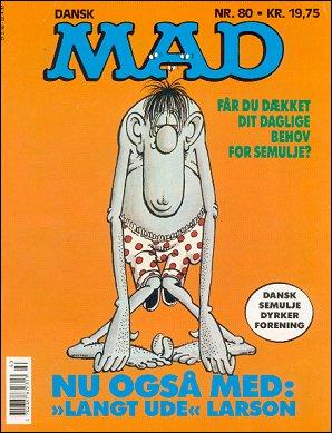 MAD Magazine #80 • Denmark • 2nd Edition - Semic