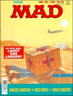 MAD Magazine #83 • Denmark • 2nd Edition - Semic