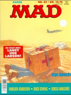 Go to MAD Magazine #83 • Denmark • 2nd Edition - Semic