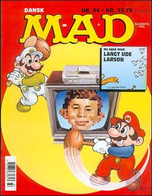 MAD Magazine #84 • Denmark • 2nd Edition - Semic