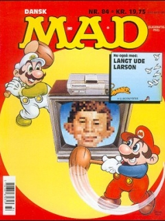 Go to MAD Magazine #84 • Denmark • 2nd Edition - Semic