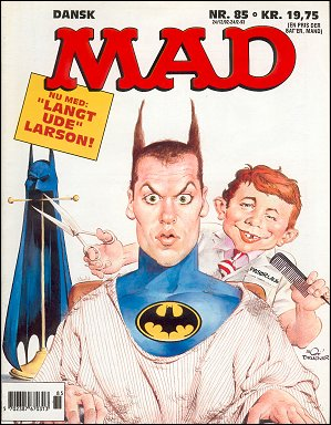MAD Magazine #85 • Denmark • 2nd Edition - Semic
