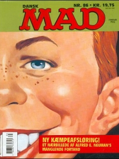 Go to MAD Magazine #86 • Denmark • 2nd Edition - Semic