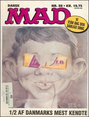 MAD Magazine #88 • Denmark • 2nd Edition - Semic
