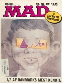 MAD Magazine #88 • Denmark • 2nd Edition - Semic