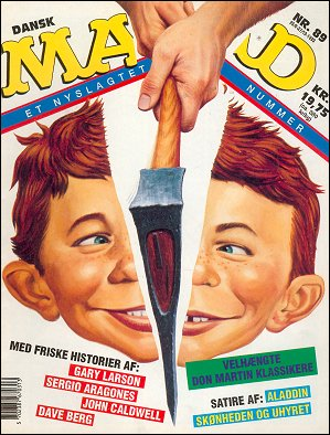 MAD Magazine #89 • Denmark • 2nd Edition - Semic