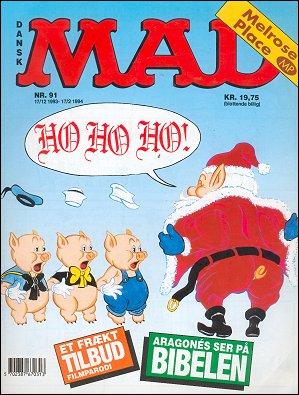 MAD Magazine #91 • Denmark • 2nd Edition - Semic