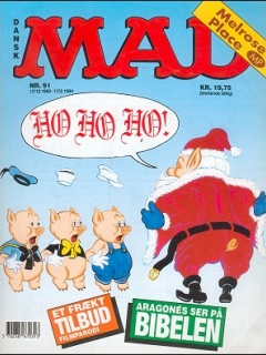 Go to MAD Magazine #91 • Denmark • 2nd Edition - Semic