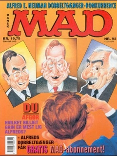 Go to MAD Magazine #92 • Denmark • 2nd Edition - Semic