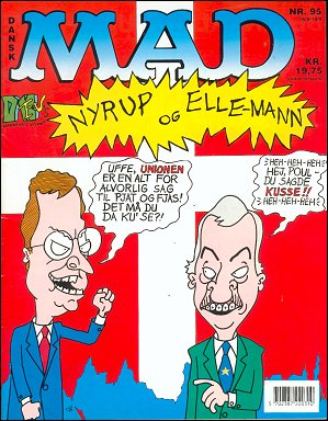 MAD Magazine #95 • Denmark • 2nd Edition - Semic