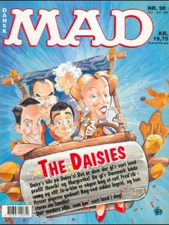 Go to MAD Magazine #98 • Denmark • 2nd Edition - Semic